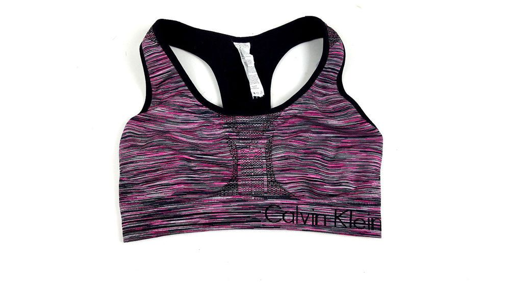 Calvin Klein Performance Quick Dry Sports Bra Sz Medium