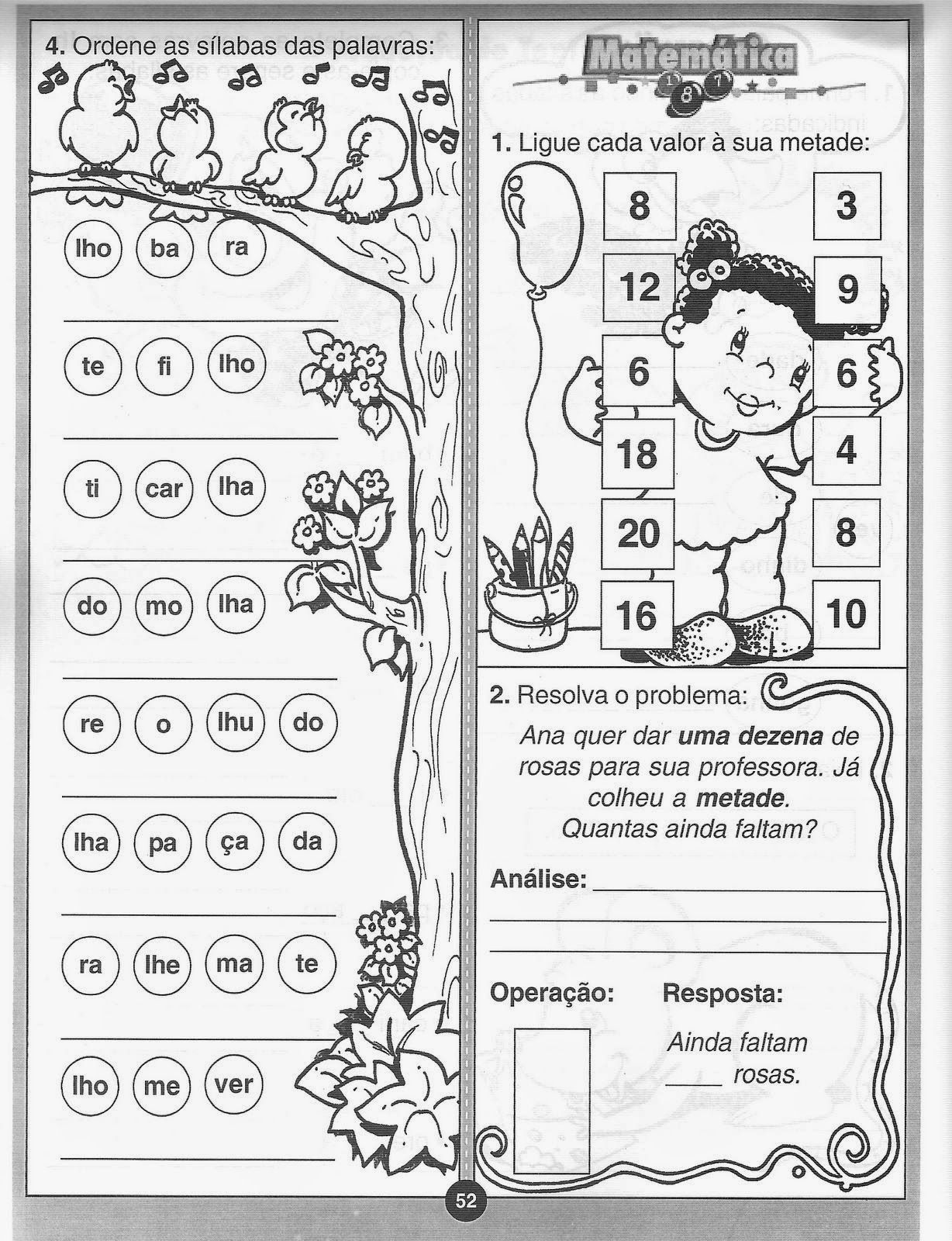 70 Atividades De Alfabetizacao Ed Infantil Pre Creche Com Imagens