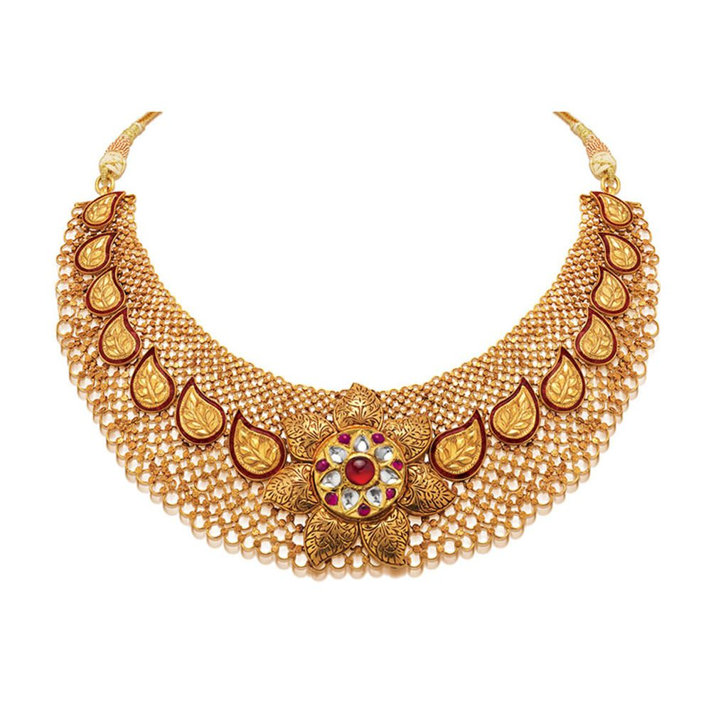 Simple necklace designs in gold | Simple Elegant Necklaces ...