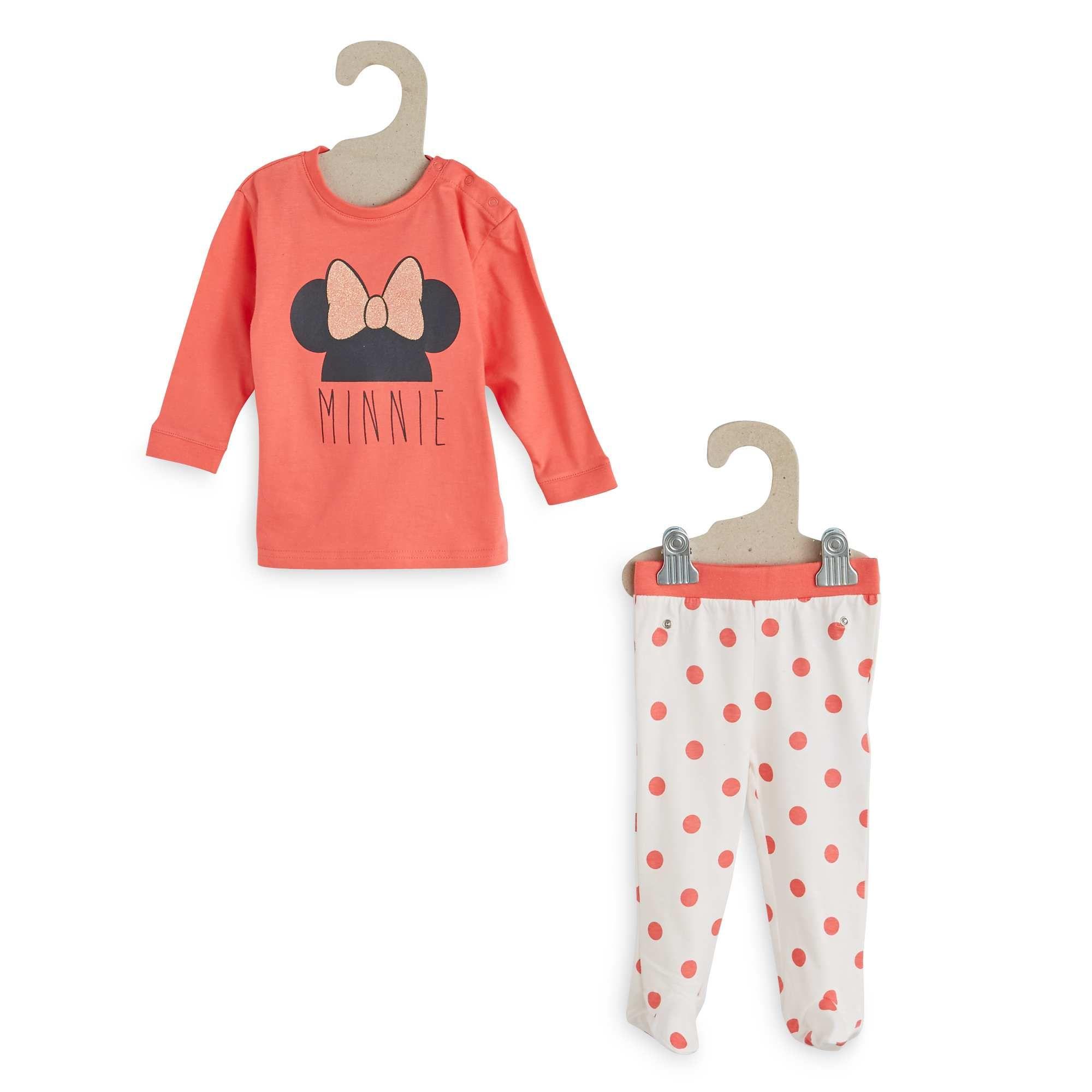ensemble pyjama 2 pi ces 39 minnie 39 petite fille kiabi 7. Black Bedroom Furniture Sets. Home Design Ideas
