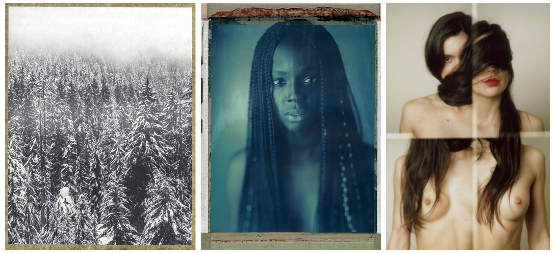 OLIVIER BARJOLLE (FR/UK) - Landscapes SILVANO MAGNONE (IT/BE) - Y&Y + portraits MATHIEU ANDRIEUX (FR) - Corpus imperfectis