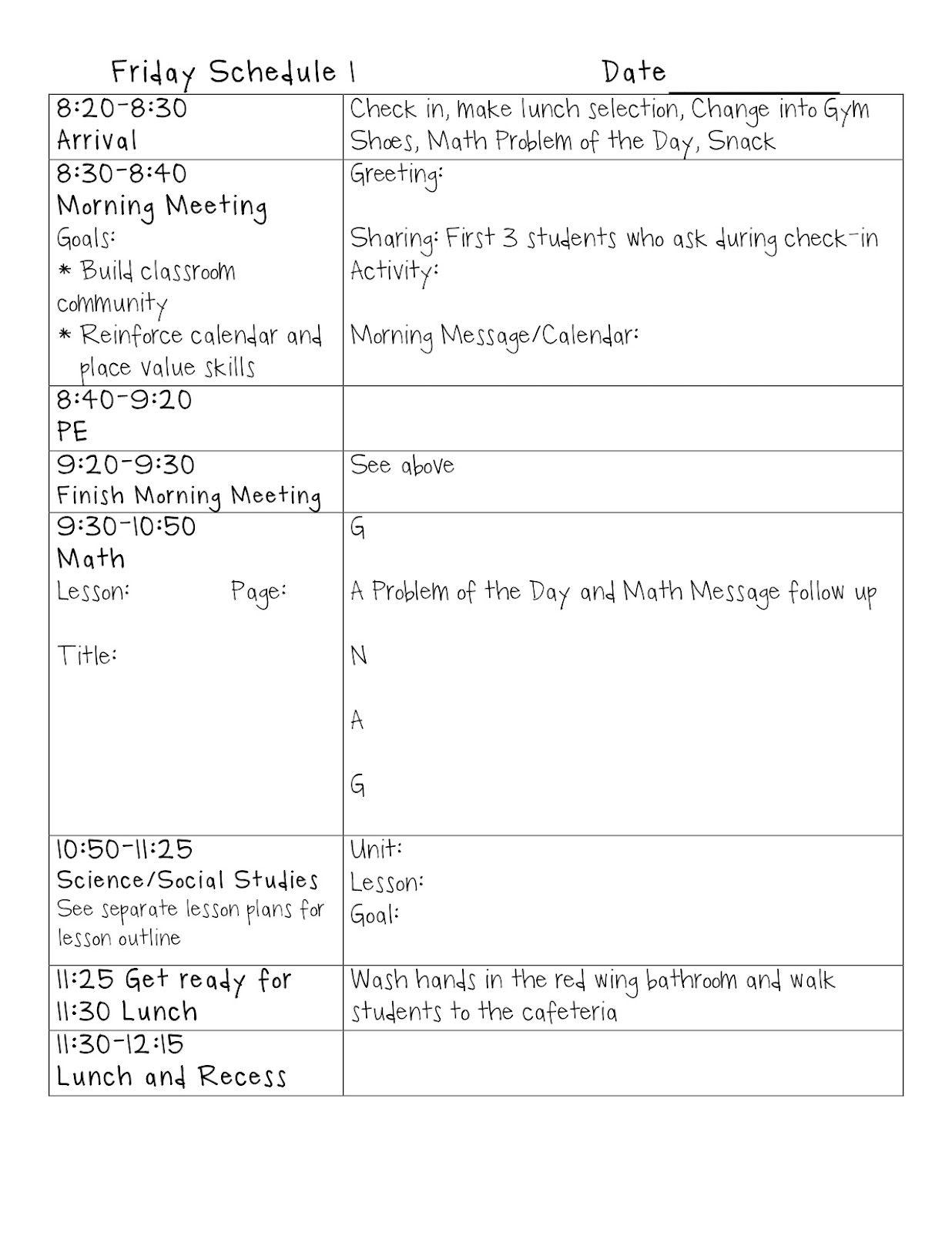 Writing StandardDriven Lesson Plans Lesson plan