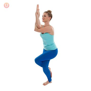how to do eagle pose  yoga for legs yoga routine for
