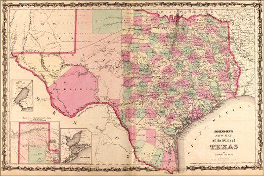 Amazon 24x36 poster map of texas 1862 antique reprint amazon 24x36 poster map of texas 1862 antique reprint everything gumiabroncs Choice Image