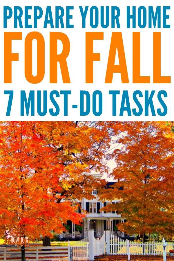 Photo of 7 Schritte zur Vorbereitung Ihres Hauses auf den Herbst