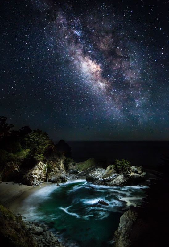 These Nighttime Landscape Shots Take Drone Lighting To The Next Level Landscape Beautiful Sky Night Skies