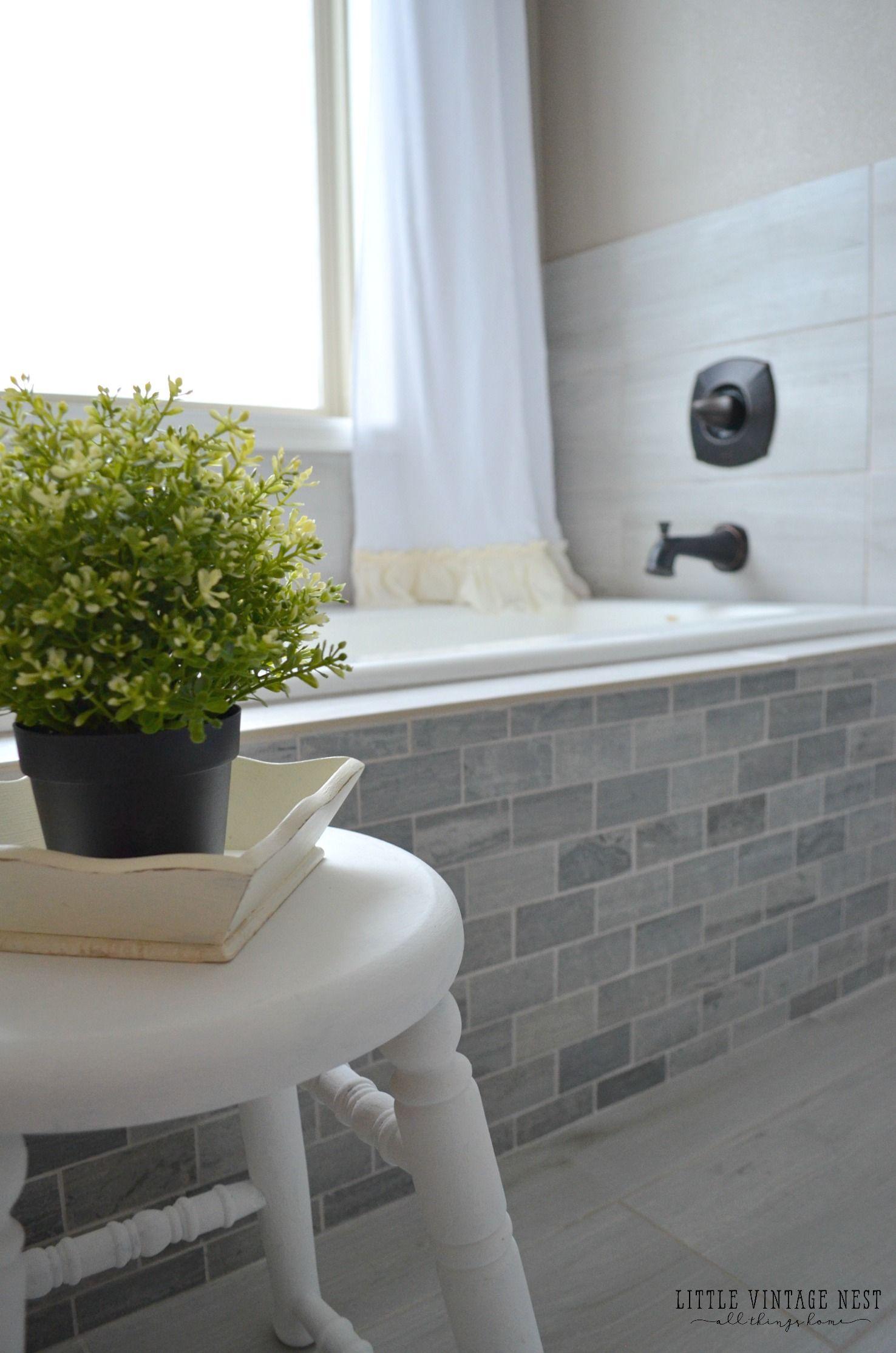 Farmhouse Master Bathroom Reveal Farmhouse Bathroom