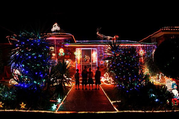 Christmas Lights Illuminate Suburban Sydney - Pictures - Zimbio - Christmas Lights Illuminate Suburban Sydney CHRISTMAS TIME IS