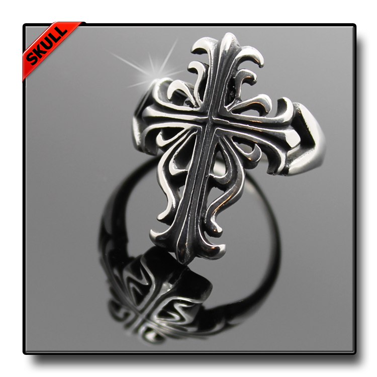 CELTIC CROSS FIDELITY RING