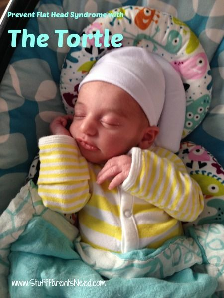 Preventing Flat Head Syndrome With The Tortle Baby Bug