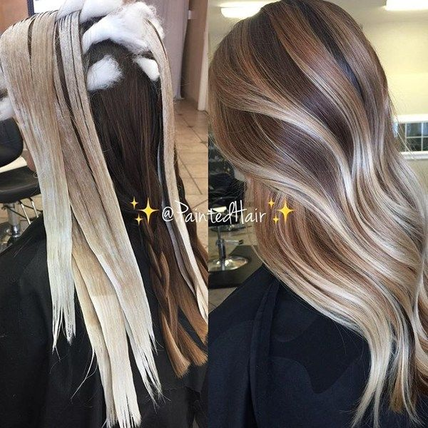 Hair Painting Balayage Highlights And All Over Applications Hair Color Techniques Hair Styles Silver Blonde Hair