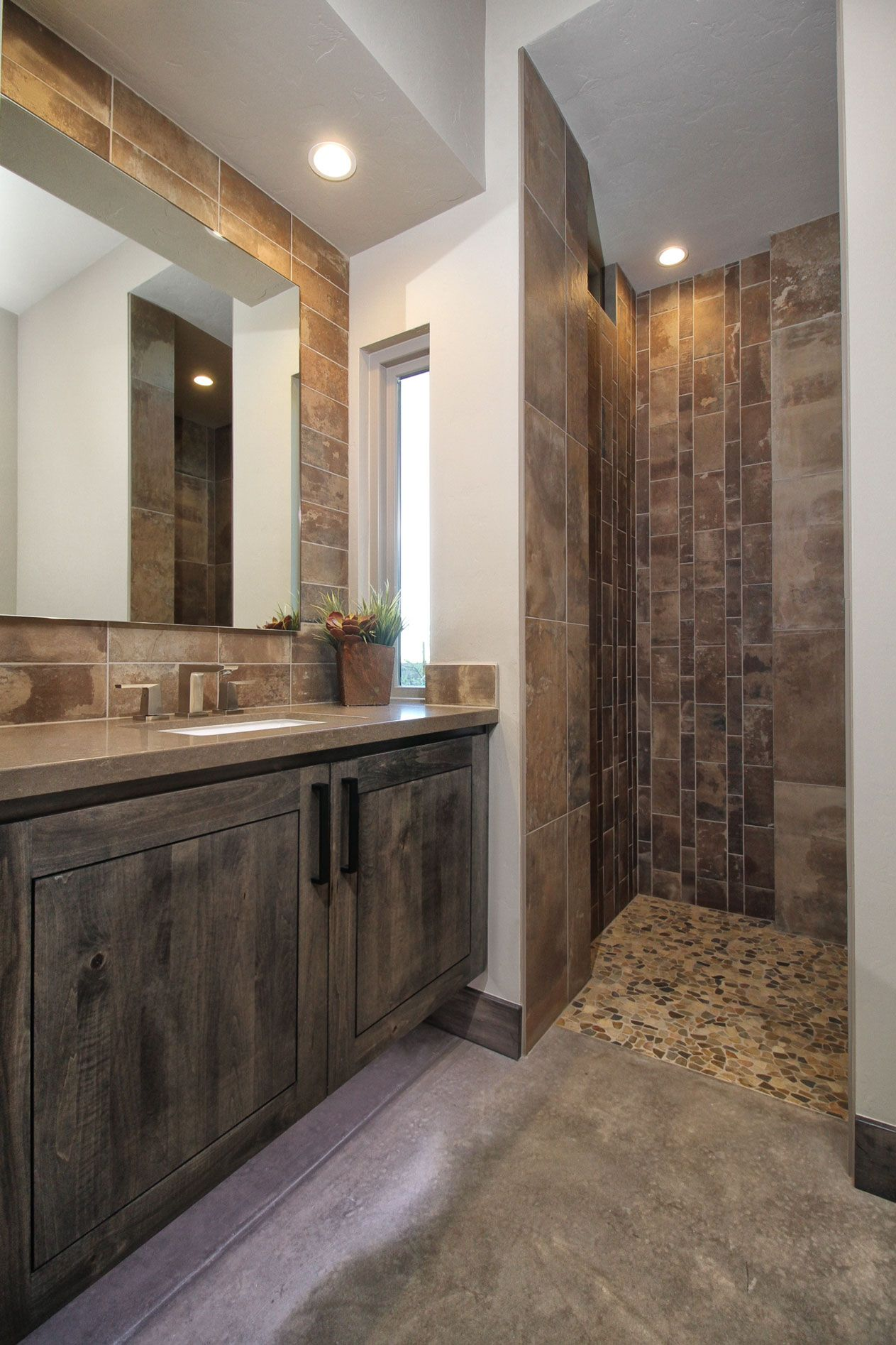 Contemporary Tiling And Fine Details Exist Throughout Each Of The