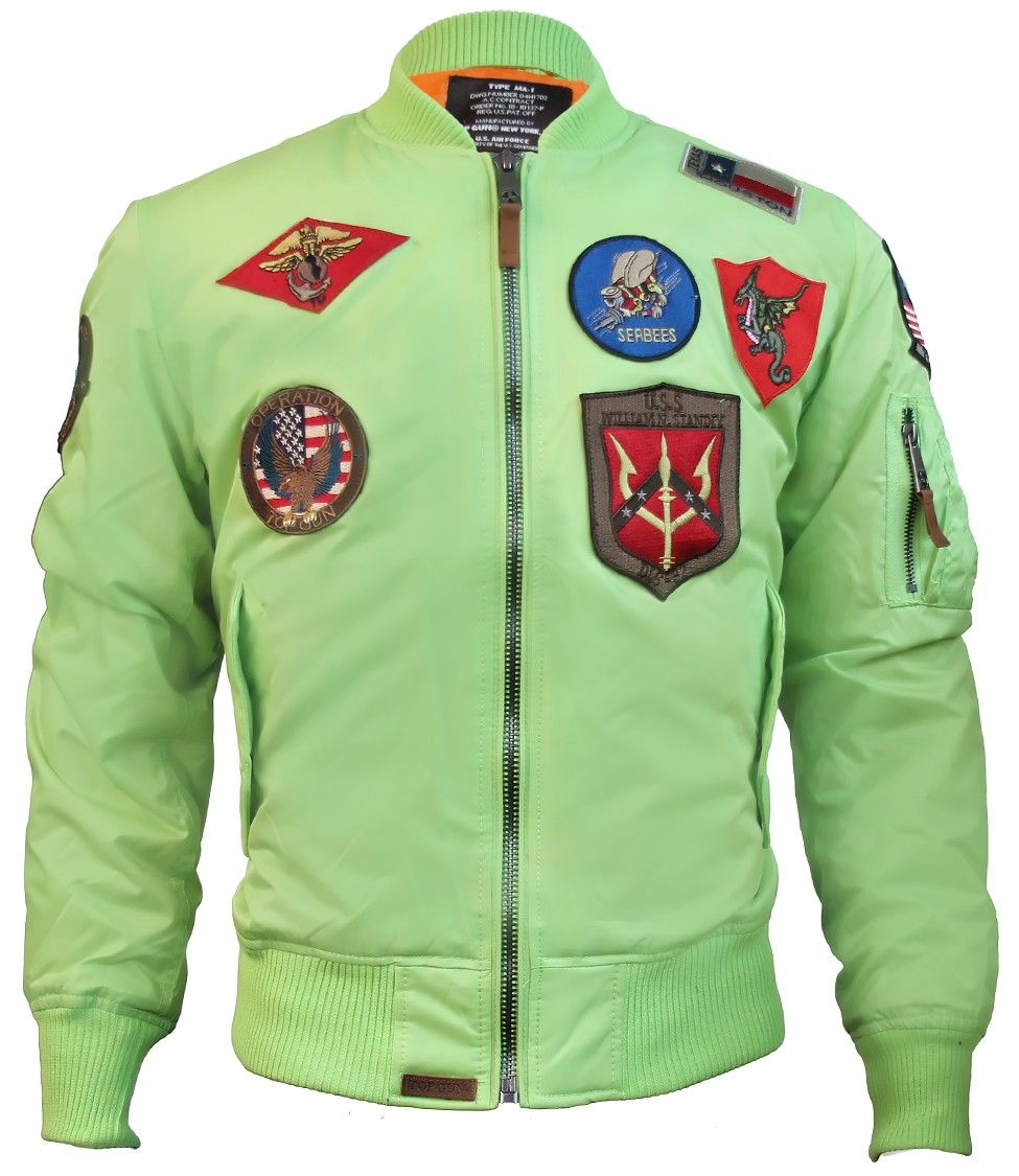 a1458222ae1 Top Gun® MA-1 Jacket with Patches