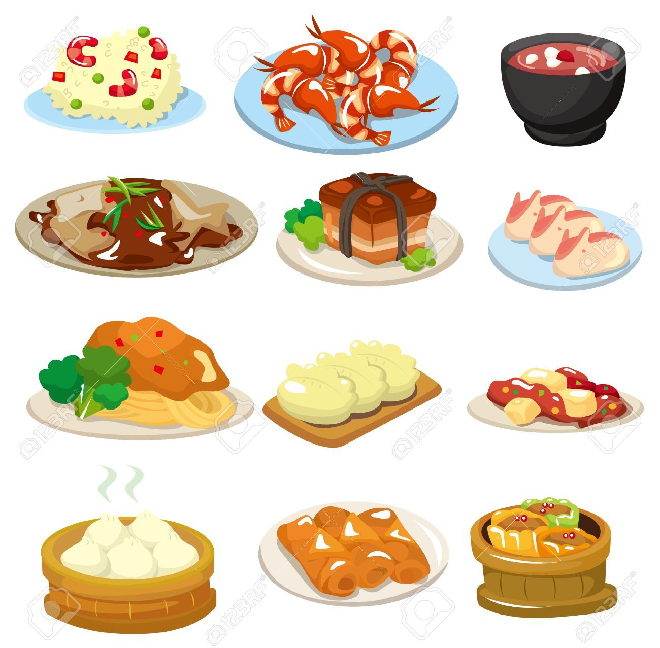 Image Result For Chinese Food Clipart