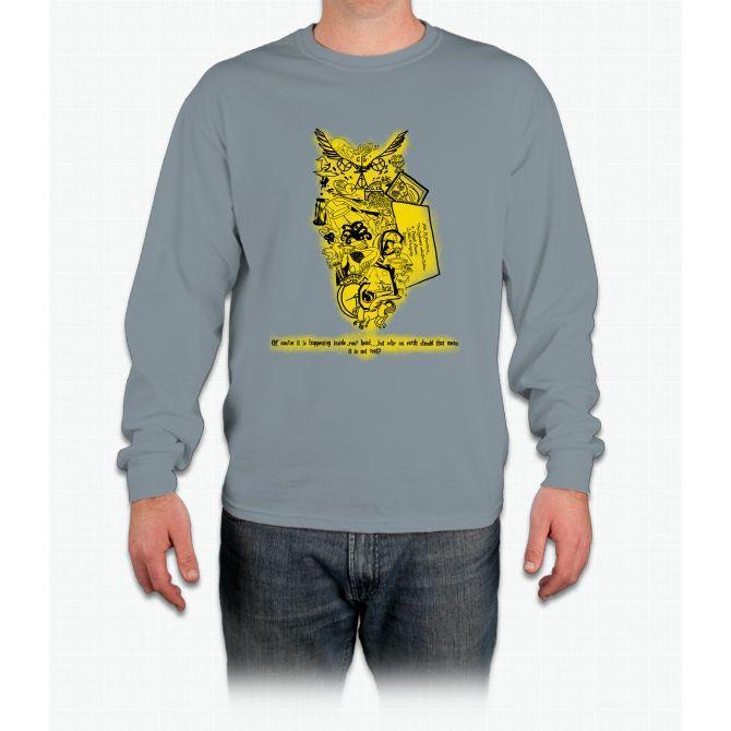 Hufflepuff Book Art Harry Potter Long Sleeve T-Shirt