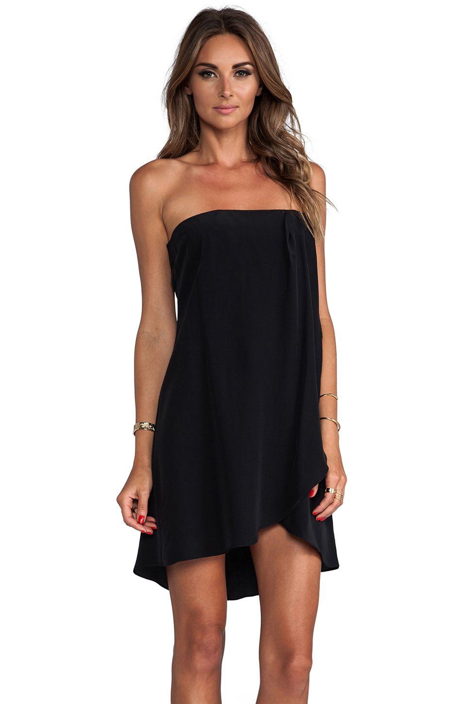 Helena Quinn Karin Mini Dress in Black from REVOLVEclothing