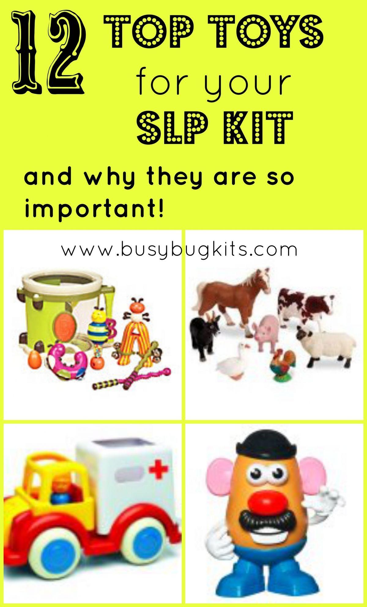 SLP Kit Essentials Speech language therapy, Speech