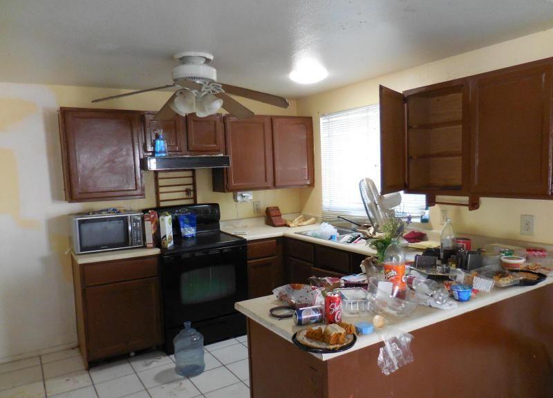 Cluttered Chaotic Messy Disorganized Kitchen Counters Fixer Upper Mesa  Arizonau2026
