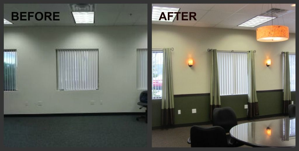conference room design window wall before and after floor on commercial office space paint colors id=25092