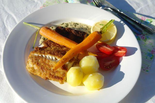MÅRTENSSONS KÖK: Gösfilé och en härlig dillsås med pikant smak.