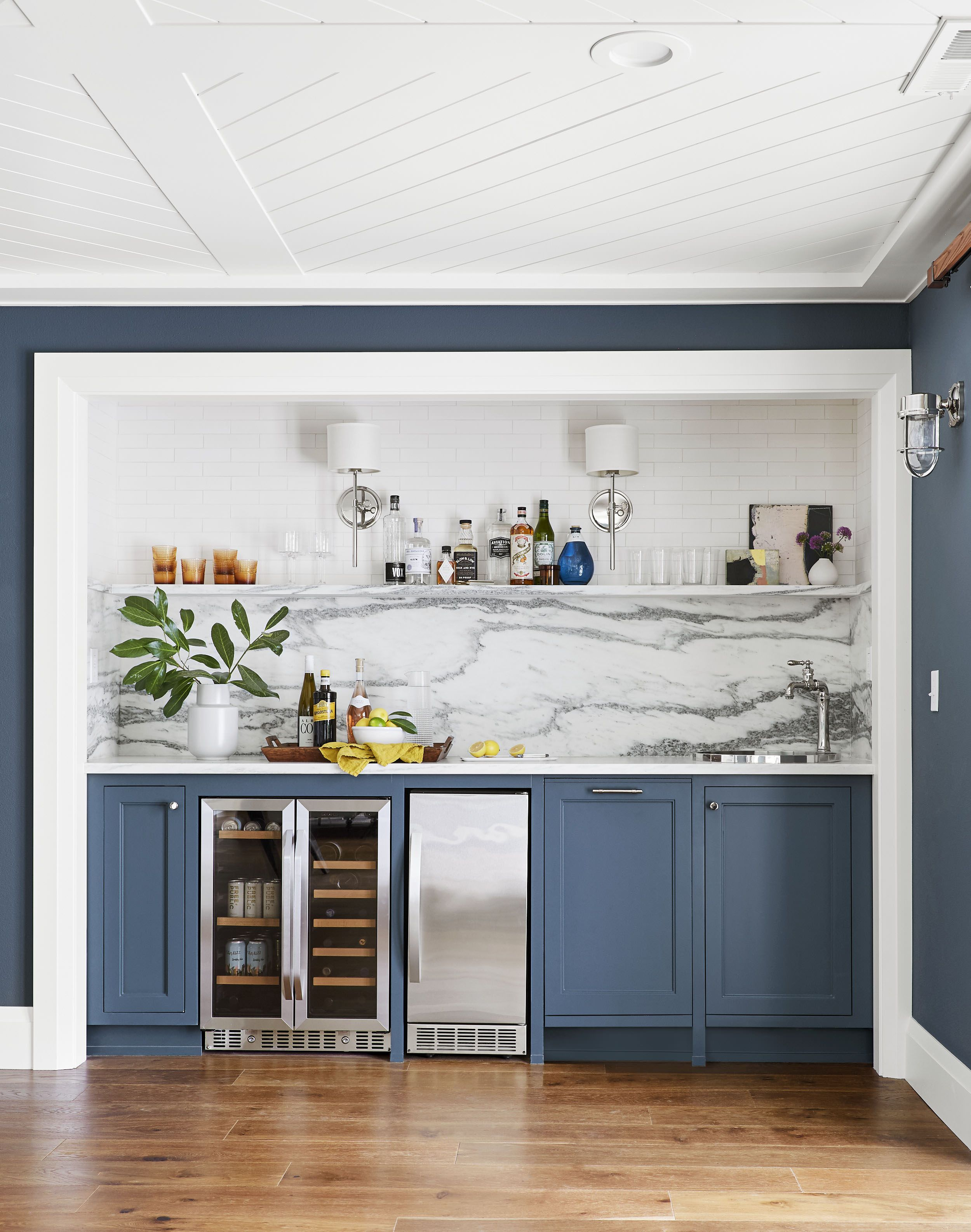 Emily henderson media room ideas home style also how to design the ultimate family friendly  wet bar rh pinterest