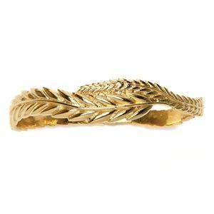 Prosperity and fertility gold bangle.  $140