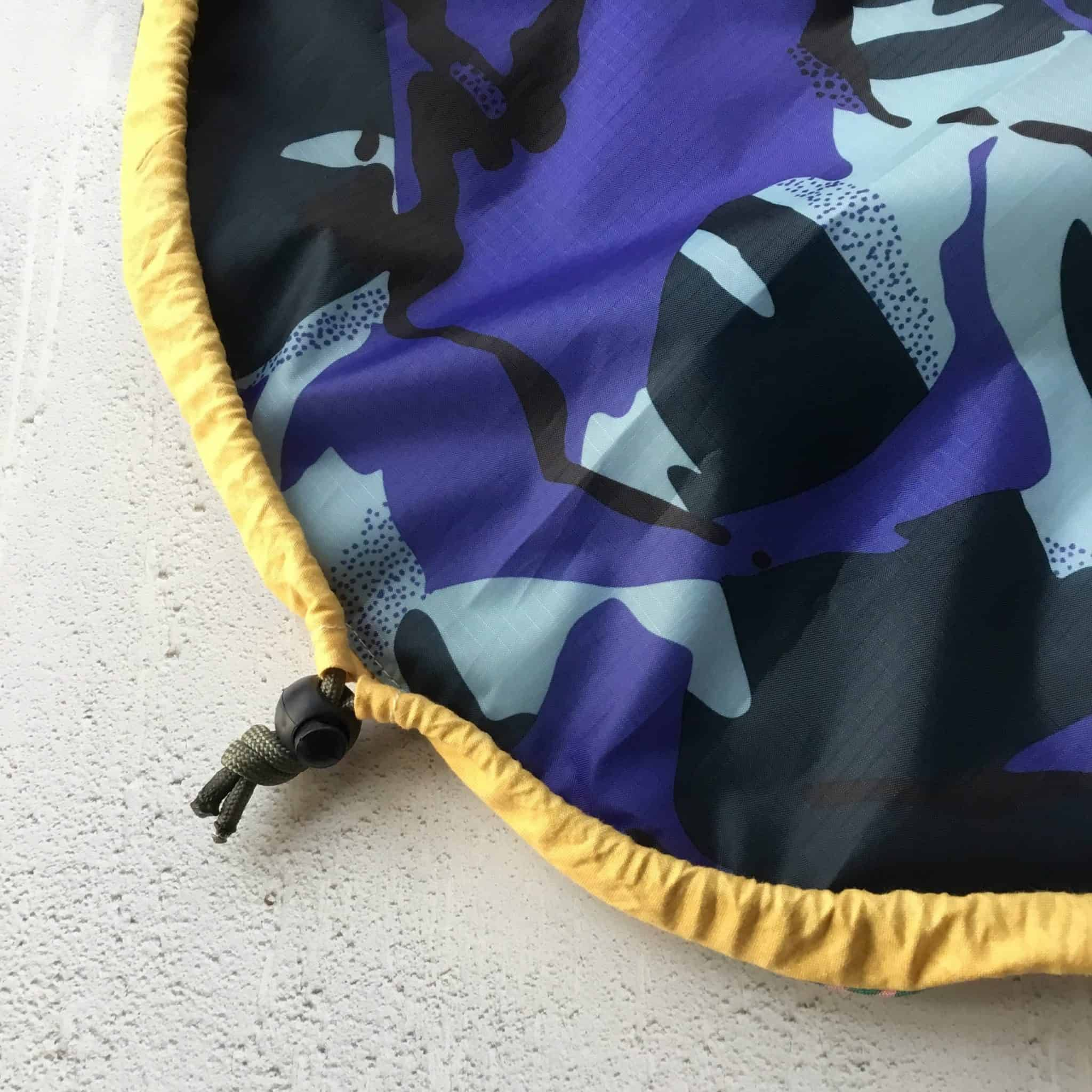 Tutorial the Stash'n'Go drawstring bag Drawstring bag