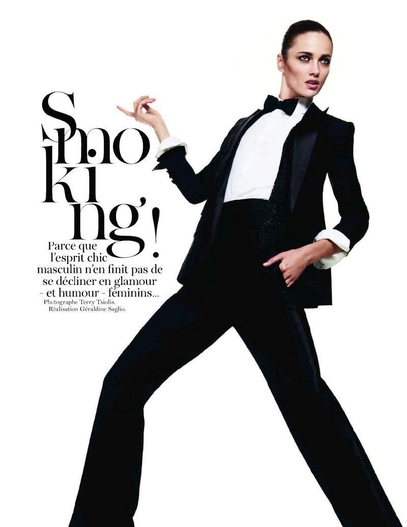 Vogue Paris - Smoking!