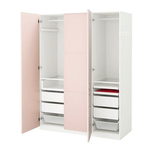 Pax armario blanco mer ker rosa claro bisagra cierre - Instrucciones armario pax ...