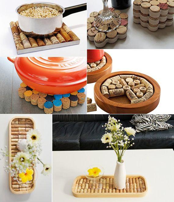 basteln mit korken kreative und einfache bastelideen f r. Black Bedroom Furniture Sets. Home Design Ideas