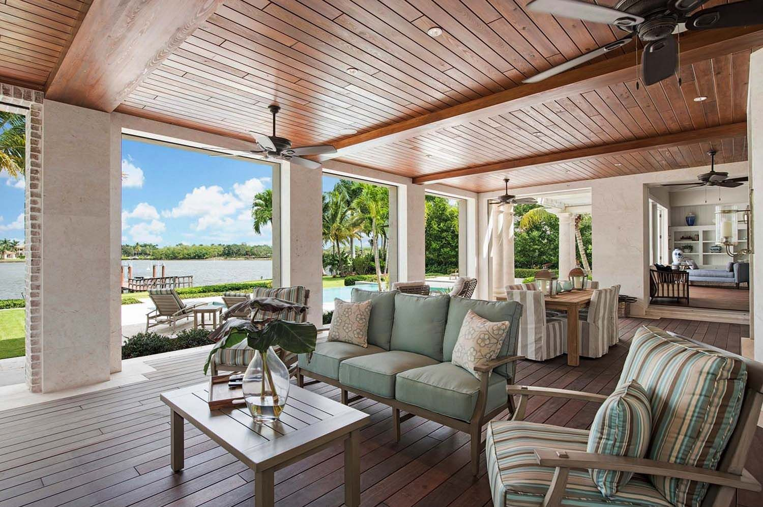 30 Amazing Beach Style Deck Ideas Promoting Relaxation Casa De Campo Outdoor Living Space Beach Style