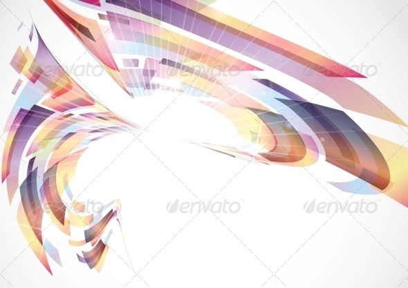 Abstract colorful background vector illustration eps also design rh pinterest