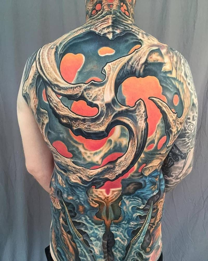 Grime Tattoo Artist >> Biomechanical Tattoo Artist: Guy Aitchison | Tatuajes ...