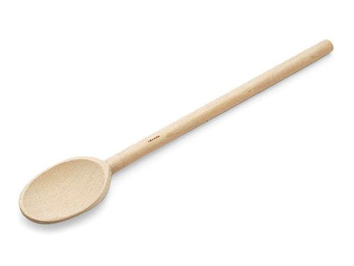 12-in. French Beechwood Mixing Spoon by H.A. Mack at Cooking.com