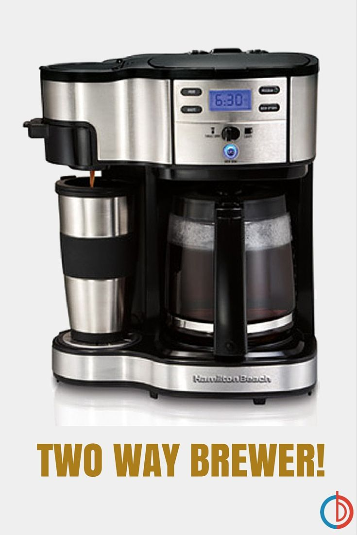 Hamilton Beach Two Way Brewer Single Serve And 12 Cup Coffee Maker Hamilton Beach Coffee Maker Camping Coffee Maker Coffee Maker