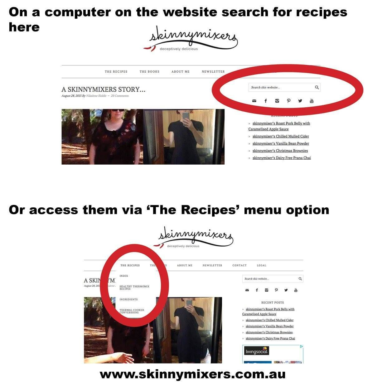 to Recipe newsletter, Thermal cooking, Food recipes