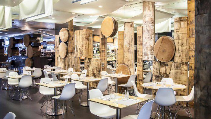 modern cafe interior design