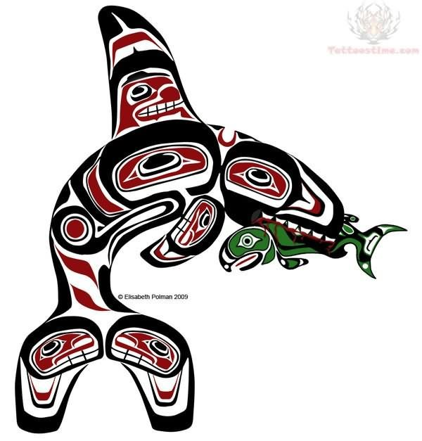 northwest tribal fish google search tattoo ideas pinterest google search google and. Black Bedroom Furniture Sets. Home Design Ideas