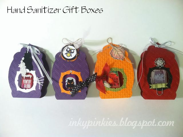 Happy Halloween Hand Sanitizer Holders For All Ages Fall Craft