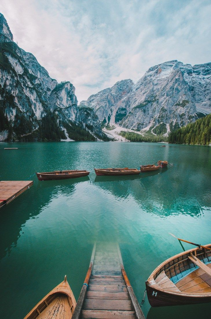 Pragser Wildsee a.k.a. Lago di Braies - the most beautiful lake in Italy