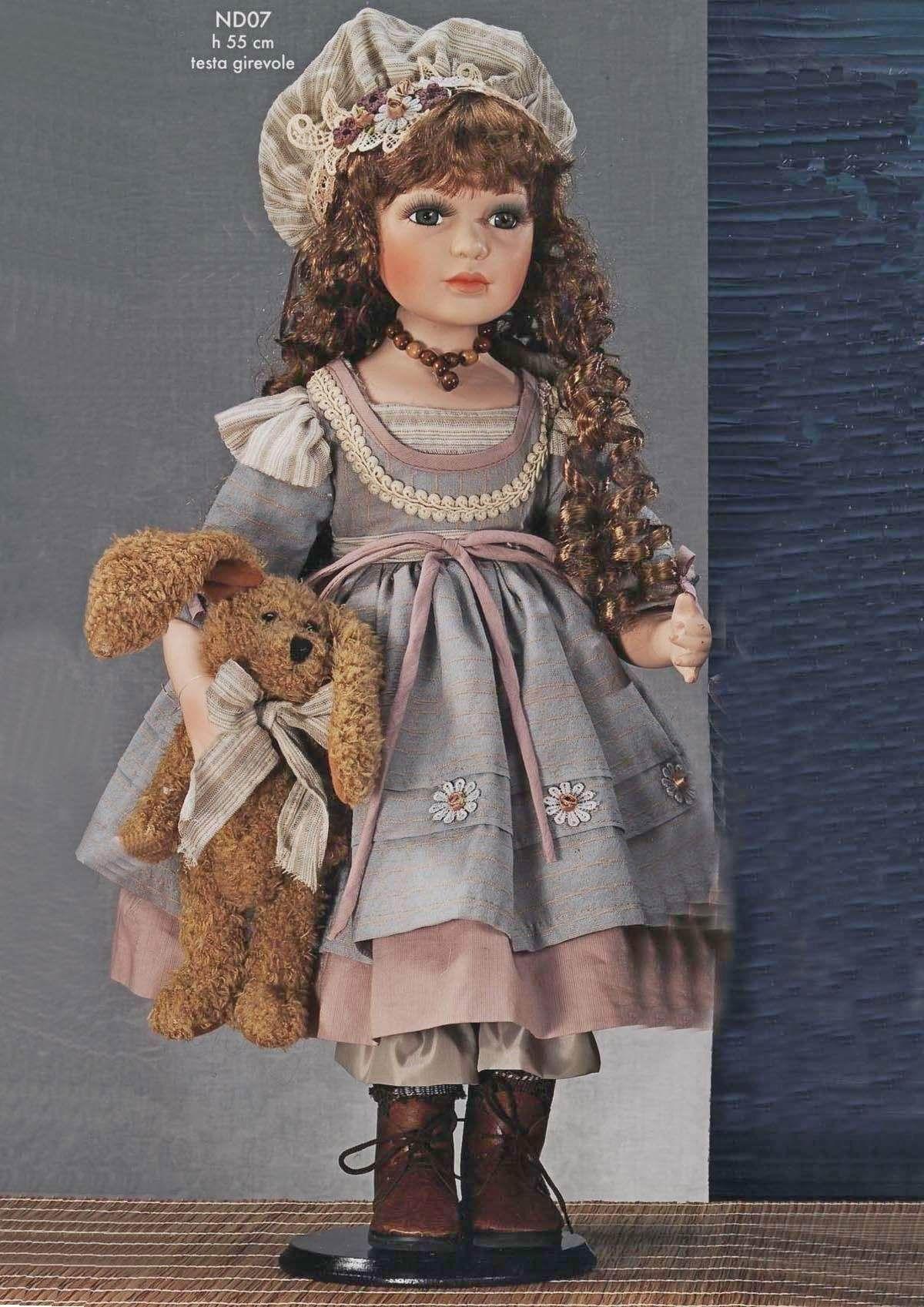 Bambole in porcellana da collezione | Bambole di porcellana