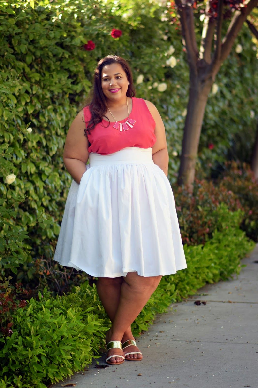 Ross Plus Size clothing, Plus size flare skirt | Embrace my ...