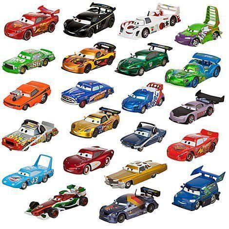 Disney Cars World Of Racing Die Cast Set By Disney 199 99