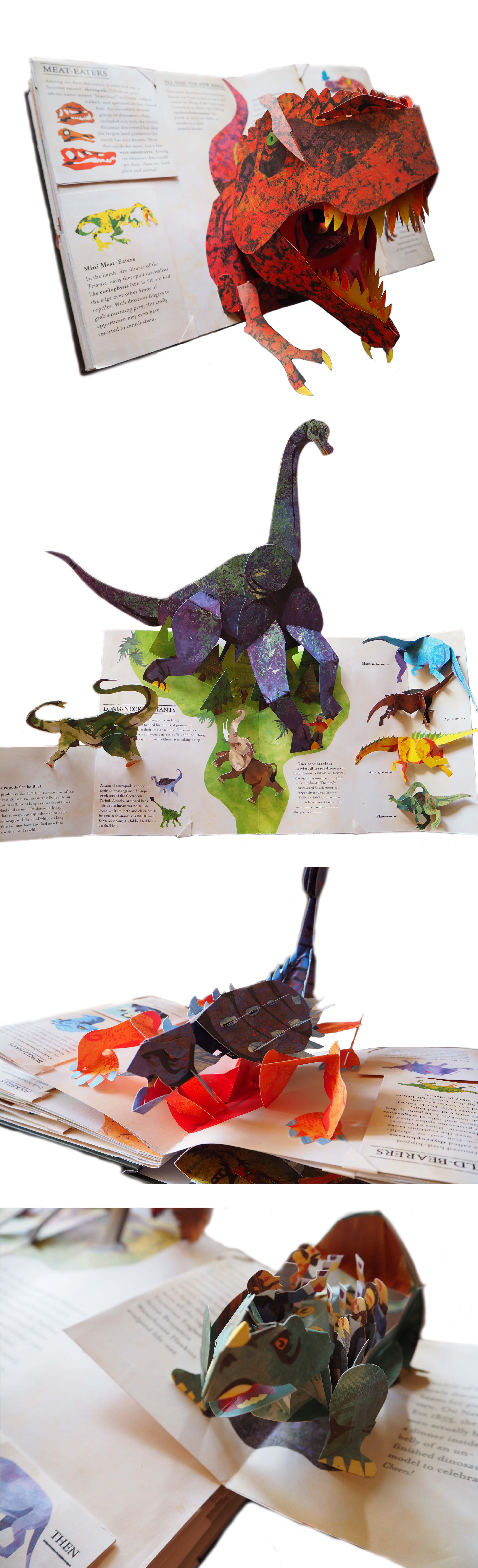 Encyclopedia Prehistorica Dinosaurs, Robert Sabuda &Matthew Reinhart Amazing pop-up book