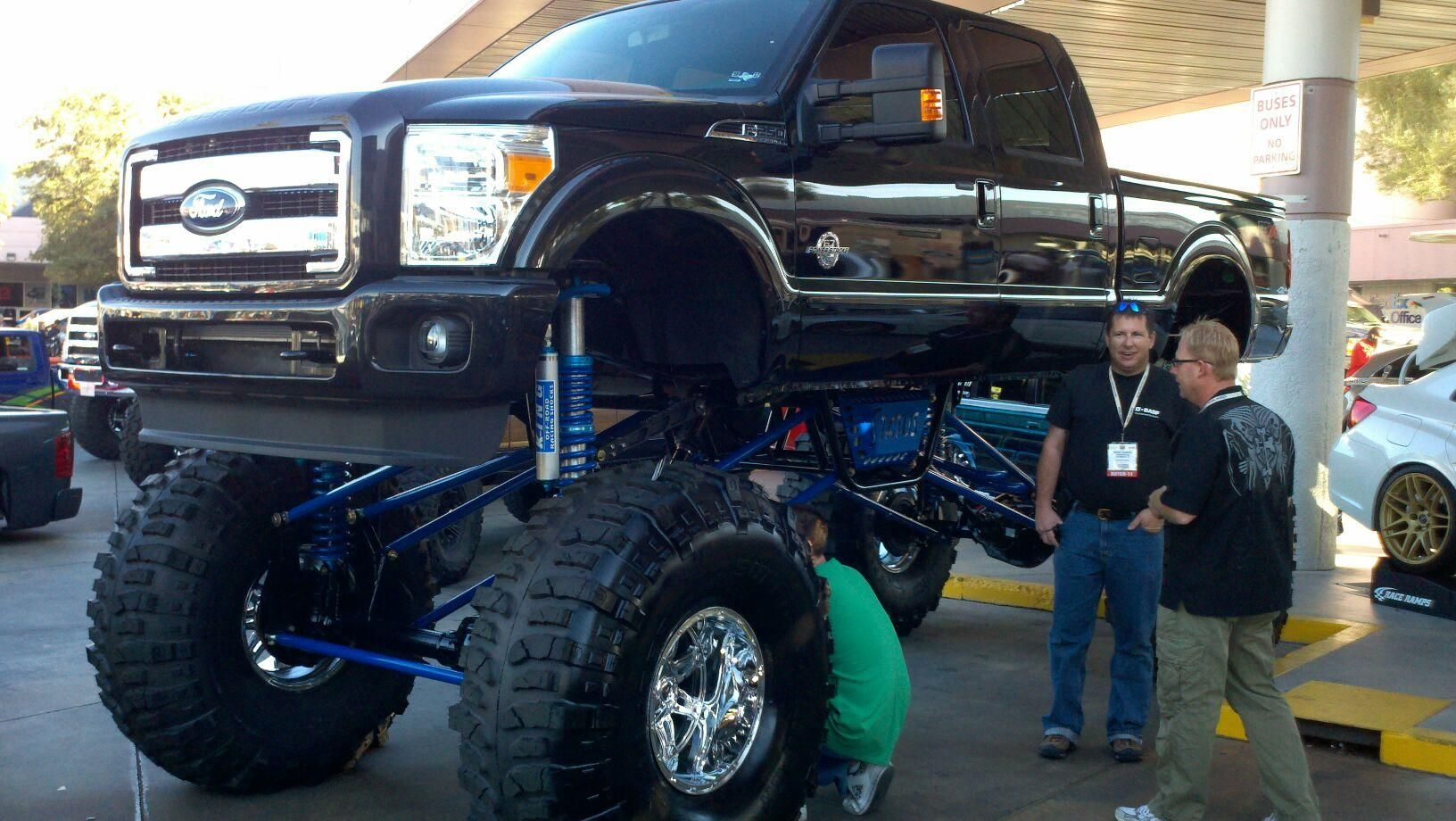 one tall Ford | Sweet ride, Monster trucks