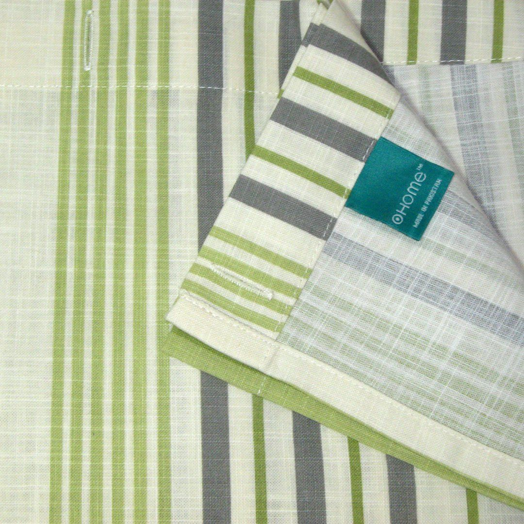 This Shower Curtain By Target Home Is Called Green Stipe The Stripes Are Light And Dark Lime Green Lime Green Curtains Fabric Shower Curtains Green Stripes