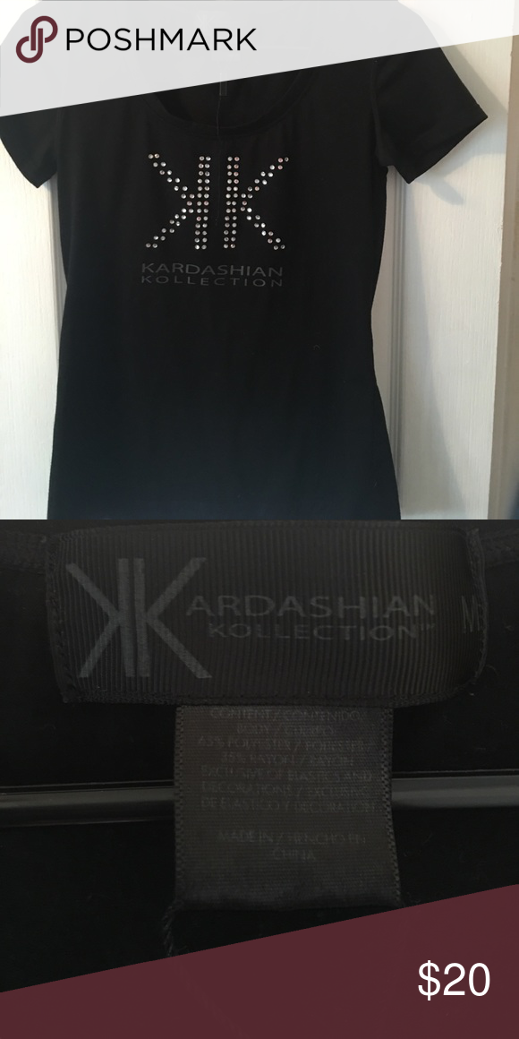 Kardashian Kollection T-shirt Kardashian Kollection Kardashian Kollection Tops Tees - Short Sleeve