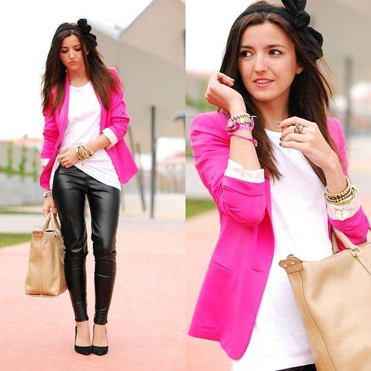 Estilo Stiletto Zara Shirt, Bimba & Lola Bag, Zara Jeans
