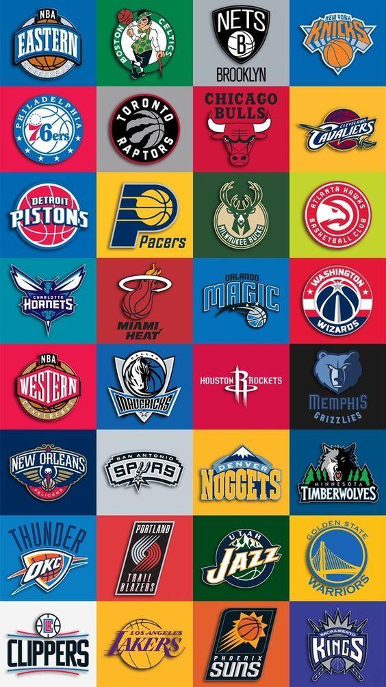 Nba Teams Logo Iphone Wallpaper Download New Nba Teams Logo Iphone Wallpaperfor Desenhos De Basquete Arte De Basquete Basquete Fotos