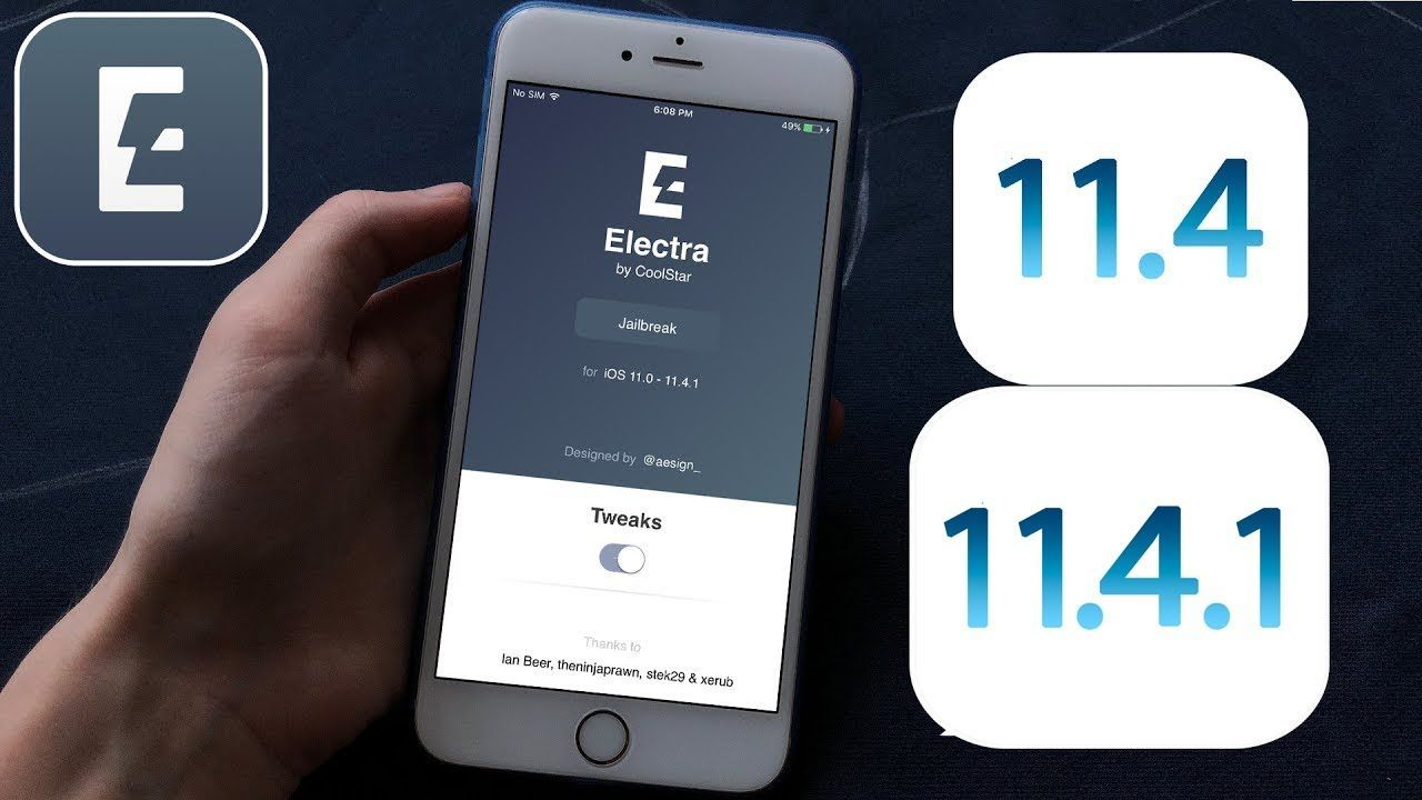 How to Install Electra RC2 Jailbreak iOS 11 4 1 - 11 4 Final
